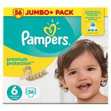 Bild på Pampers Premium Protection S6 15+ kg 56 st