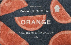 Bild på Pana Raw Chocolate Orange 45 g