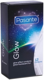 Bild på Pasante Kondom Glow 12 st