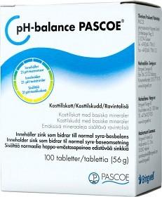 Bild på Pascoe pH-Balance 100 tabletter
