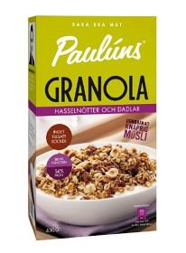Bild på Pauluns Granola Hasselnötter & Dadlar 450 g