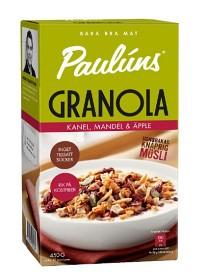 Bild på Pauluns Granola Kanel Mandel & Äpple 450 g