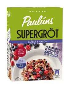 Bild på Pauluns Supergröt Blåbär & Hallon 500 g