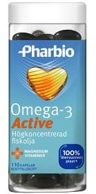 Bild på Pharbio Omega-3 Active 110 kapslar