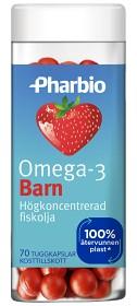Bild på Pharbio Omega-3 Barn 70 kapslar