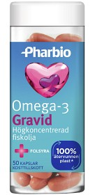 Bild på Pharbio Omega-3 Gravid 50 kapslar