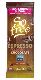 Bild på Plamil So Free No Added Sugar Espresso Chocolate 35 g