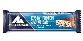 Bild på Multipower 53% Protein Bar Cookies & Cream 50 g