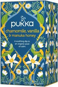 Bild på Pukka Chamomile Vanilla & Manuka Honey 20 tepåsar