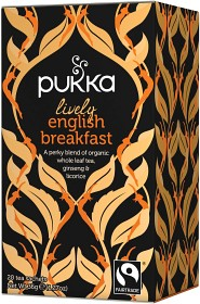 Bild på Pukka Lively English Breakfast 20 tepåsar