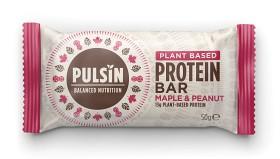 Bild på Pulsin Maple & Peanut Protein Bar 50 g
