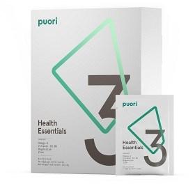 Bild på Puori 3 Omega-3, Vitamin D3, Magnesium 30 doser