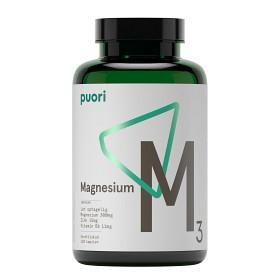 Bild på Puori M3 Magnesium & Zink 120 kapslar