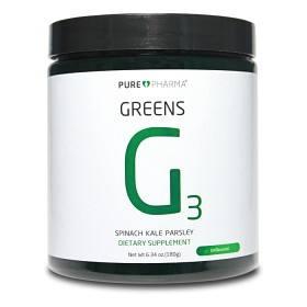 Bild på Pure Pharma Greens G3 Unflavoured 30 doser
