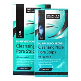 Bild på Purifying Charcoal Deep Cleansing Nose Pore Strips 6 st