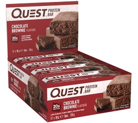 Bild på Questbar Chocolate Brownie 12 st