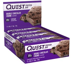 Bild på Questbar Double Chocolate Chunk 12 st