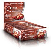 Bild på Questbar Strawberry Cheesecake 12 st