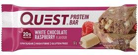 Bild på Questbar White Chocolate Raspberry 60 g