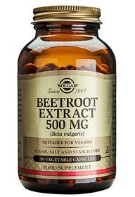 Bild på Solgar Beetroot Extract 500 mg 90 kapslar