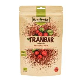 Bild på Rawpowder Tranbär 250 g