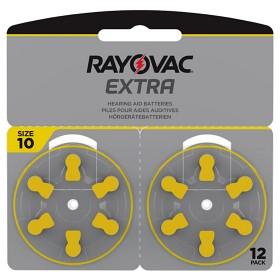 Bild på Rayovac EXTRA Advanced 10 GUL 12 st