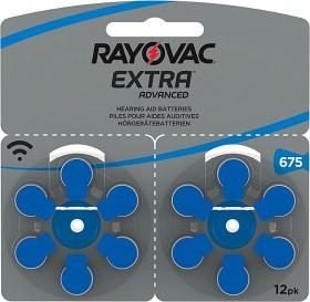 Bild på Rayovac EXTRA Advanced 675 BLÅ 12 st