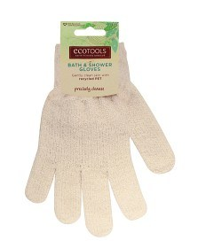 Bild på Recycled Bath & Shower Gloves