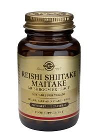 Bild på Solgar Reishi-Shiitake-Maitake 50 Veg Kaps
