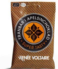Bild på Renée Voltaire Tranbär i apelsinchoklad 50 g