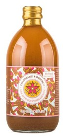 Bild på Renée Voltaire Raw Äppelcidervinägerdryck Ceylonkanel & Gurkmeja 500 ml