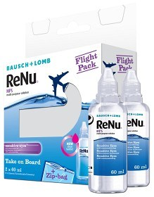 Bild på ReNu Multi-Purpose Solution Flight Pack 2 x 60 ml