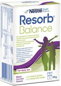 Bild på Resorb Balance Svartvinbär brustabletter 20 st