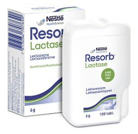 Bild på Resorb Lactase 100 tabletter