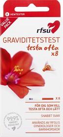 Bild på RFSU Graviditetstest 8 st