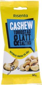 Bild på Risenta Cashewnötter Torrostade Lättsaltade 60 g