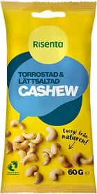 Bild på Risenta Torrostad & Lättsaltad Cashew 60 g