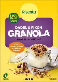 Bild på Risenta Dadlar & Fikon Granola 375 g