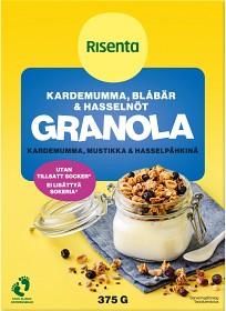 Bild på Risenta Kardemumma & Blåbär Granola 375 g