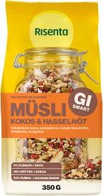 Bild på Risenta Müsli Kokos & Hasselnöt 350 g