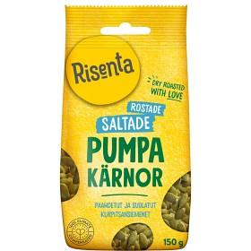 Bild på Risenta Pumpakärnor Rostade & Saltade 150 g