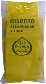 Bild på Risenta Sesamkakor 3-pack, 3x30 g