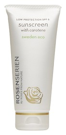 Bild på Rosenserien Sunscreen with Carotene SPF 6, 100 ml