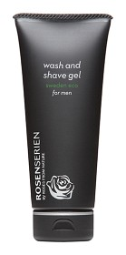 Bild på Rosenserien Wash and Shave Gel For Men 100 ml