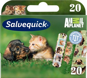 Bild på Salvequick Animal Planet 20 st