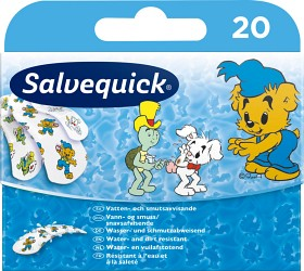 Bild på Salvequick Bamse 20 st