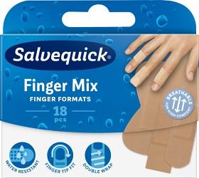 Bild på Salvequick Finger Mix 18 st