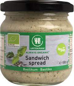 Bild på Urtekram Sandwich Spread Basilika 180 g