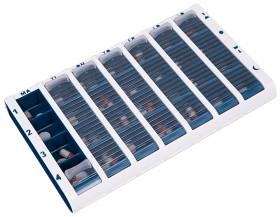 Bild på Schine Pill Box Large Blå