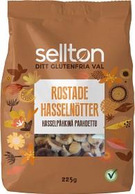 Bild på Sellton Rostade Hasselnötter 225 g